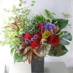 楽屋花アレンジメント a110624