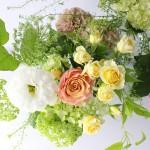 母の日花とフラワーベース2