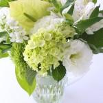 母の日花とフラワーベース4