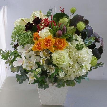 メンズエステサロンへ 開店祝い花 a111111