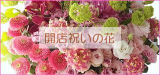 開店祝いの花