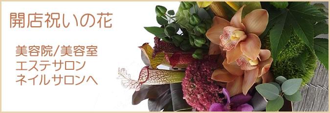 美容院/美容室・エステサロン・ネイルサロンへの開店祝いtop画像