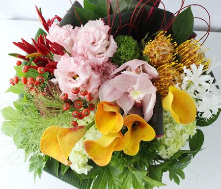 新築祝いのお祝い花 a171007