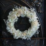フラワーリース/オフホワイト30